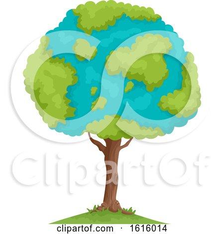 Tree Earth Illustration by BNP Design Studio