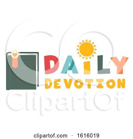 Daily Devotion Lettering Illustration by BNP Design Studio
