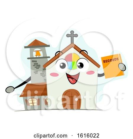 Mascot Church Records Illustration by BNP Design Studio