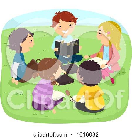 Stickman Kids Bible Study Outdoor Illustration by BNP Design Studio