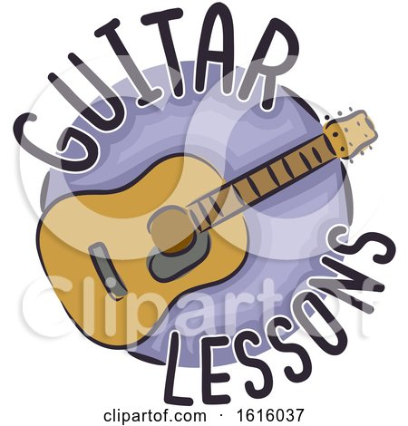 Guitar Lessons Illustration by BNP Design Studio