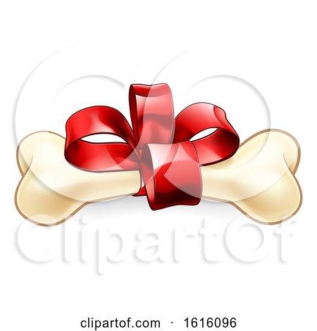 Pet Dogs Bone Christmas or Birthday Gift by AtStockIllustration