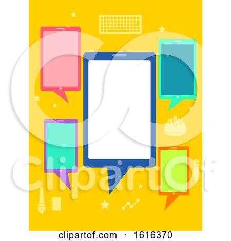Mobile Apps Development Talk Illustration by BNP Design Studio