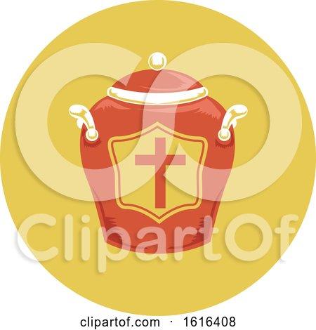 Funeral Urn Illustration by BNP Design Studio