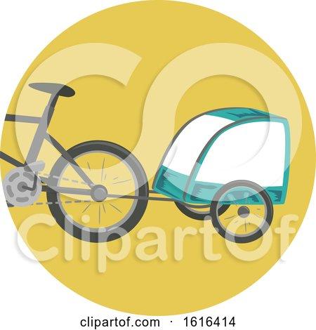 Trailer Bike Illustration by BNP Design Studio