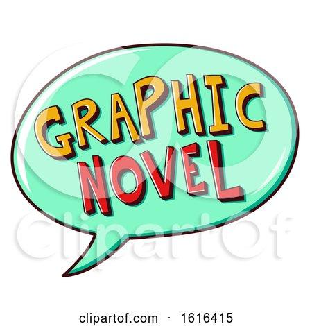Graphic Novel Speech Bubble Illustration by BNP Design Studio
