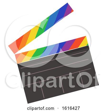 Clapper Board Lgbt Illustration by BNP Design Studio