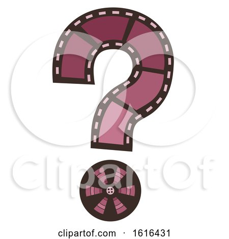 Film Question Mark Illustration by BNP Design Studio