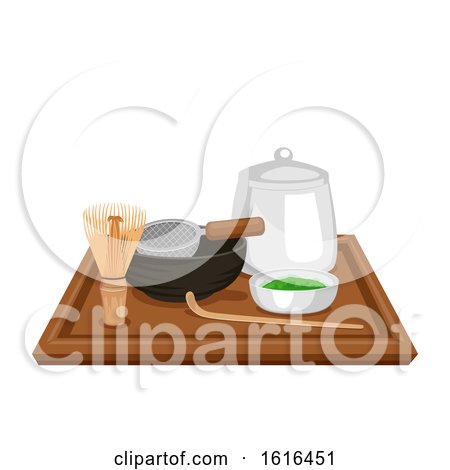 Matcha Kit Illustration by BNP Design Studio