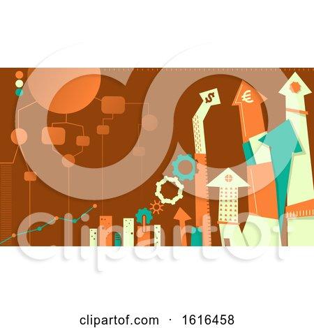 Business Administration Design Illustration by BNP Design Studio