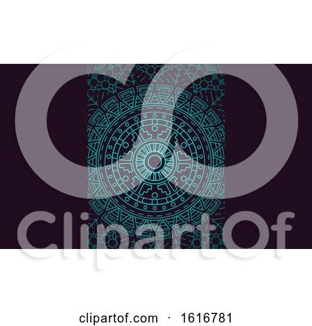 Mandala Business Card or Background Design by KJ Pargeter