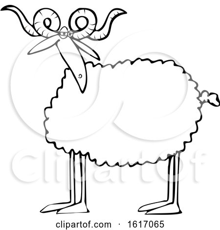 Royalty Free Sheep Illustrations By Djart Page 1
