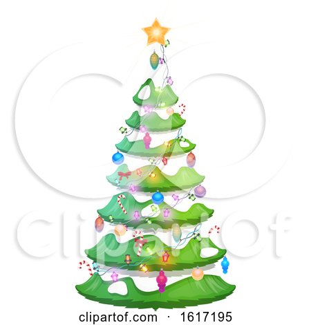 Christmas Tree Design by Vector Tradition SM