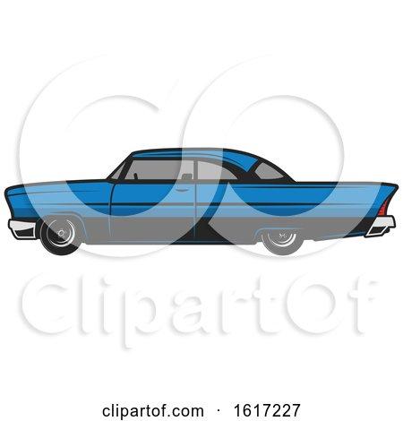 Vintage Car by Vector Tradition SM