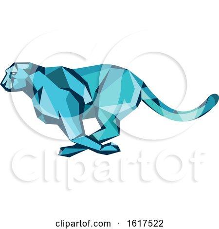Cheetah Running by patrimonio