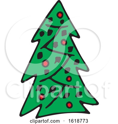 Christmas Tree by Cherie Reve