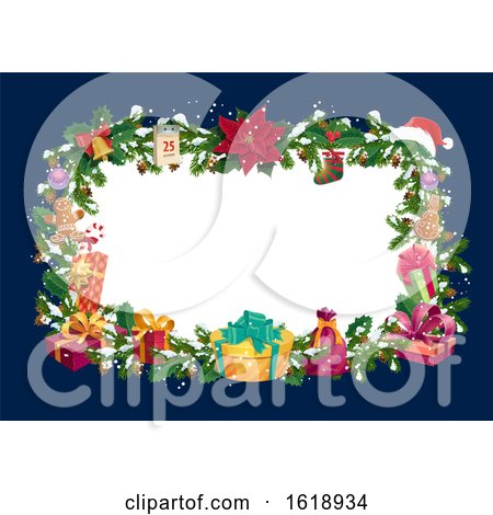 Christmas Frame by Vector Tradition SM