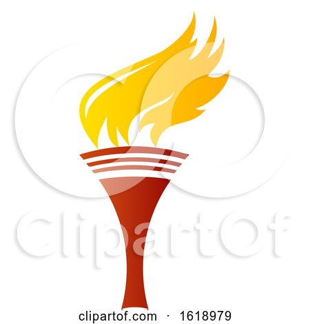 Flaming Torch by Vector Tradition SM