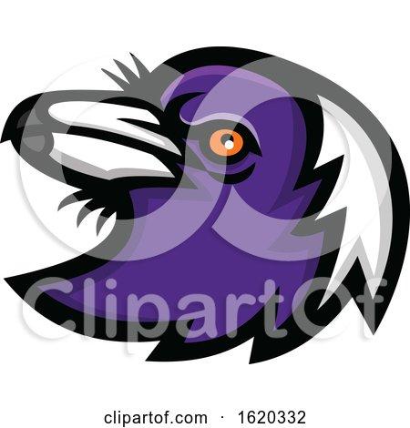 Magpie Head Mascot by patrimonio