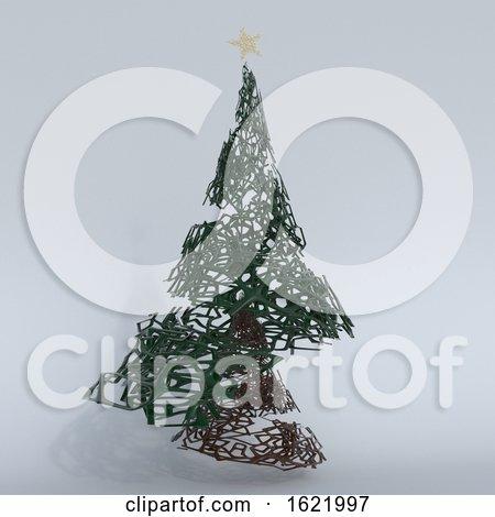 Render of 3D Christmas Tree by KJ Pargeter