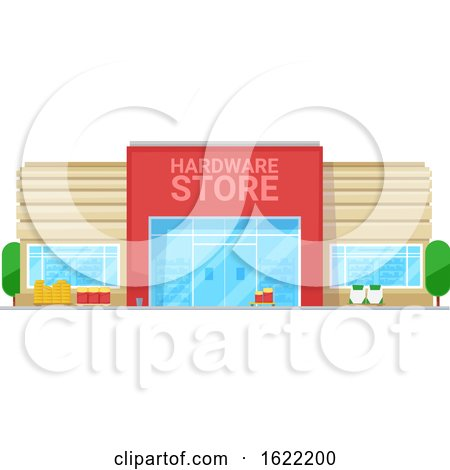 Hardware Store Front by Vector Tradition SM