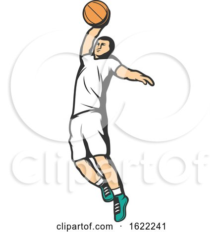 Basketball Player by Vector Tradition SM