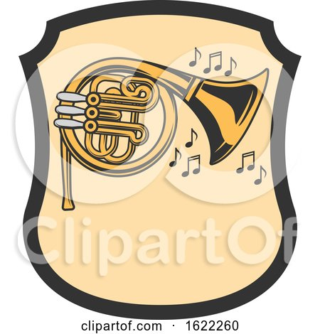 French Horn by Vector Tradition SM