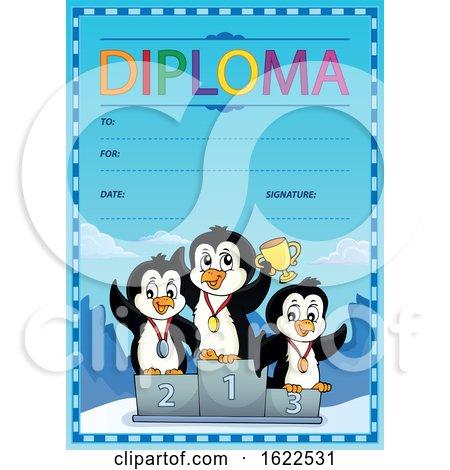 Championship Penguins Diploma by visekart
