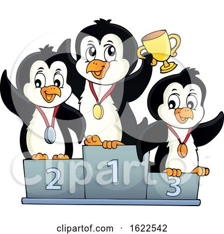 Championship Penguins by visekart