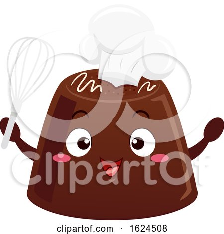 Mascot Chocolate Chef Illustration by BNP Design Studio