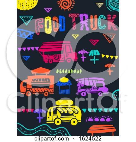 Food Truck Festival Illustration by BNP Design Studio