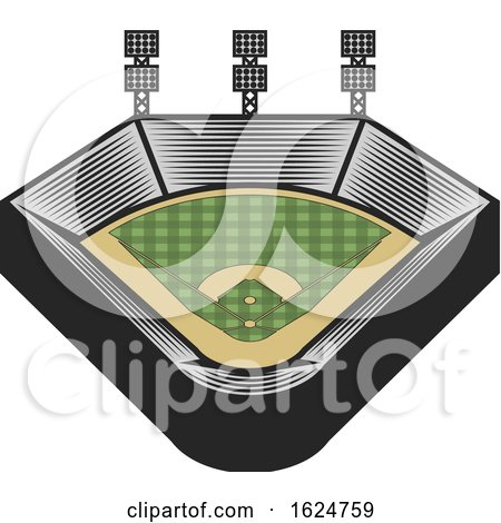 Baseball Field by Vector Tradition SM