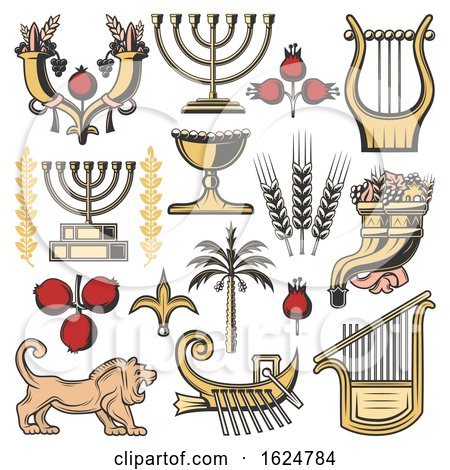 Jewish Icons by Vector Tradition SM