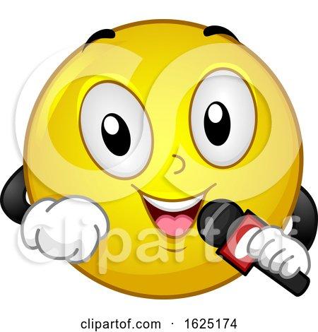 Smiley Reporter Microphone Wireless Report by BNP Design Studio
