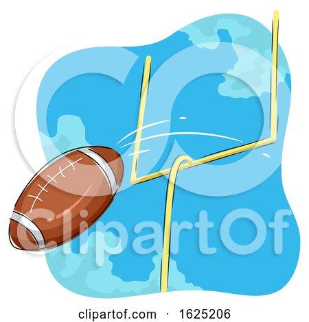 American Football Goal Illustration by BNP Design Studio