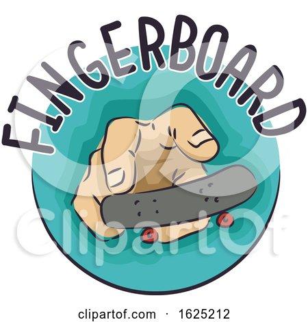 Hand Fingerboard Illustration by BNP Design Studio