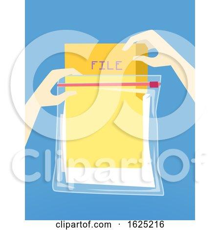 Hand Hurricane Preparedness File Protection by BNP Design Studio