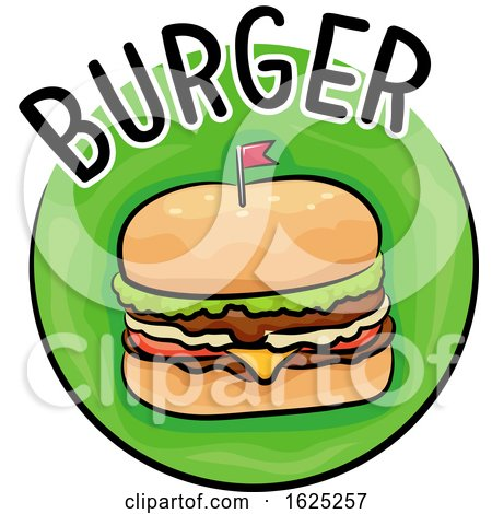 Icon Burger Illustration by BNP Design Studio