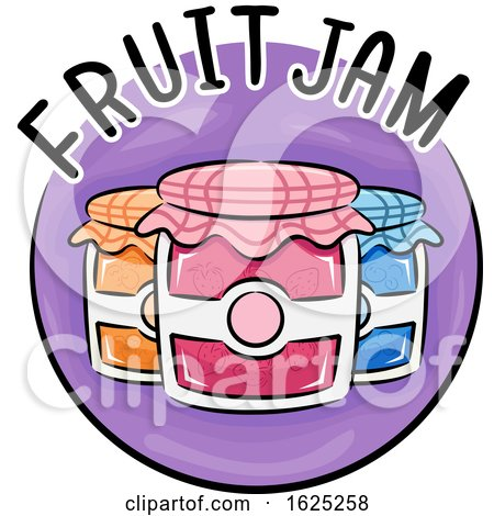 Icon Fruit Jam Illustration by BNP Design Studio