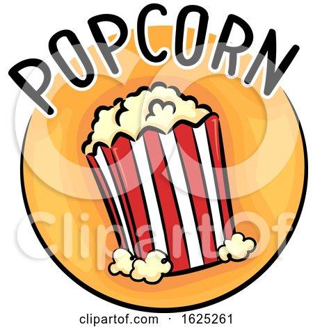 Icon Popcorn Illustration by BNP Design Studio
