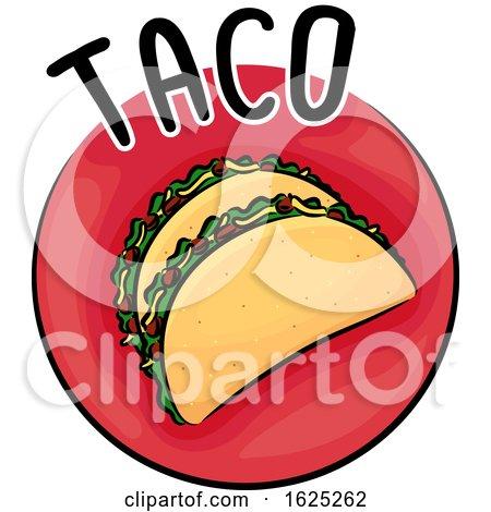 Icon Taco Illustration by BNP Design Studio