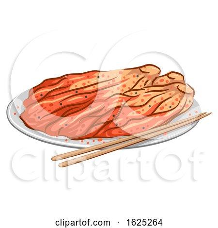 Korean Food Kimchi Illustration by BNP Design Studio