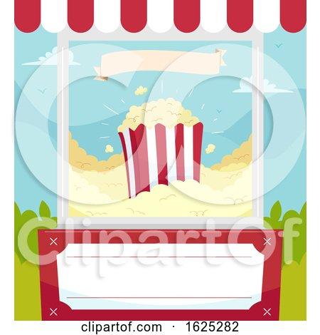 Popcorn Poster Illustration by BNP Design Studio