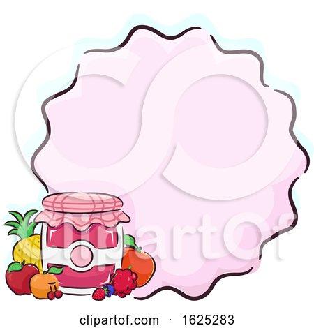 Fruit Jam Background Illustration by BNP Design Studio