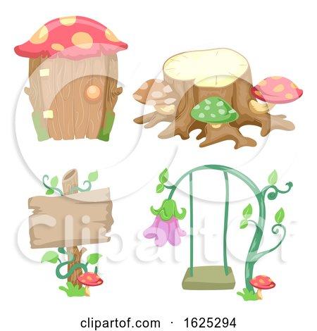 Garden Design Elements Illustration by BNP Design Studio