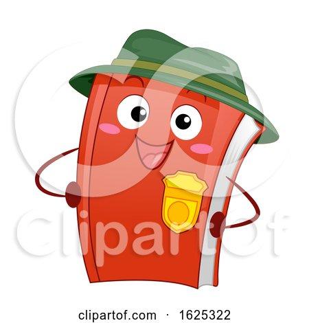 Mascot Park Ranger Activity Book Illustration by BNP Design Studio