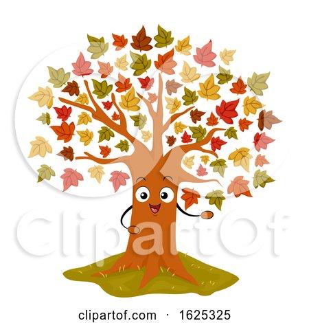 Mascot Maple Tree Illustration by BNP Design Studio
