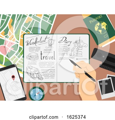 Hand Travel Doodle Book Illustration by BNP Design Studio