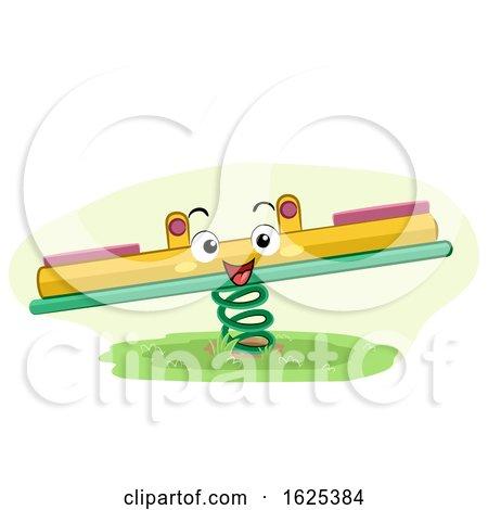 Mascot Seesaw Playground Illustration by BNP Design Studio