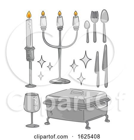 Silverware Illustration by BNP Design Studio